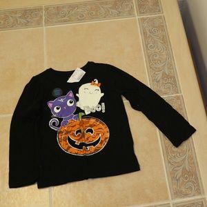 Children's place girls halloween shirt 4T